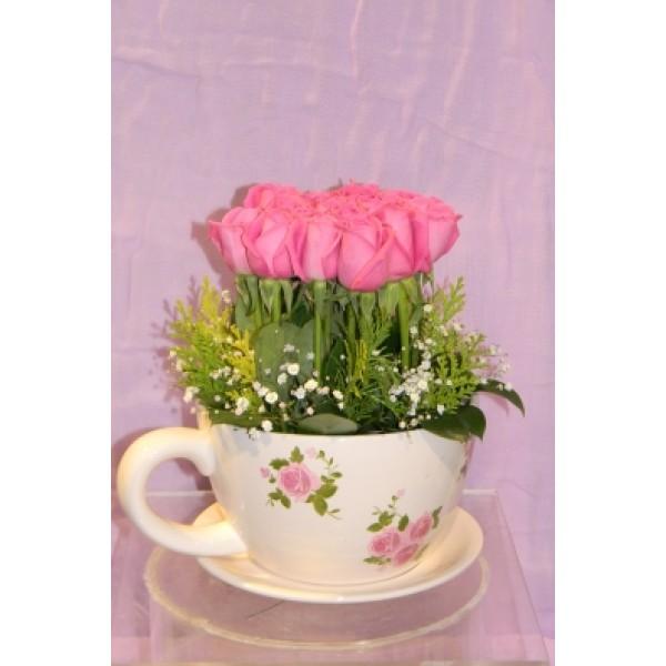 Σύνθεση με τριαντάφυλλα